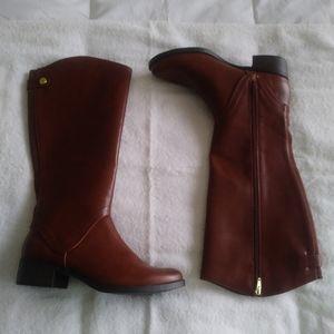Merona Cognac Tall Riding Boots